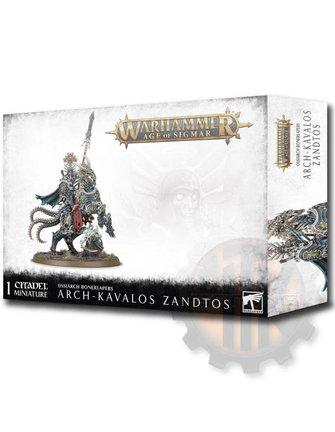 Age Of Sigmar Arch-Kavalos Zandtos Dark Lance Of Ossia