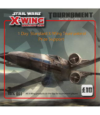 Tournaments X-Wing Tournament (Sunday 1st Dec 2019)