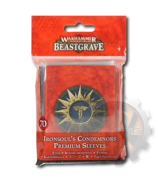 Warhammer Underworlds *Whu: Ironsoul'S Condemnors Premium Sleeves