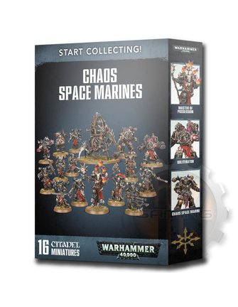 Warhammer 40000 Start Collecting! Chaos Space Marines