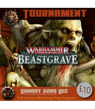 Tournaments Warhammer Underworlds (Sun 22nd Dec 2019)
