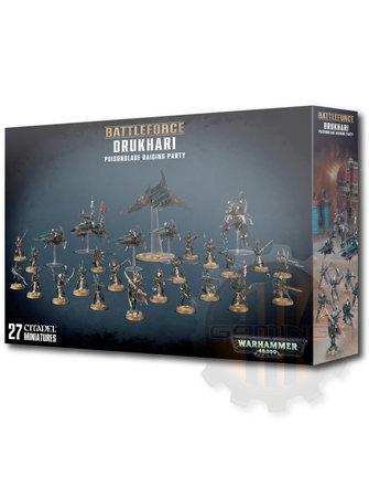 Warhammer 40000 Drukhari Poisonblade Raiding Party