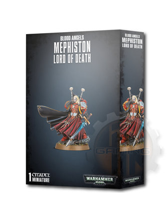 Warhammer 40000 Blood Angels Mephiston Lord Of Death
