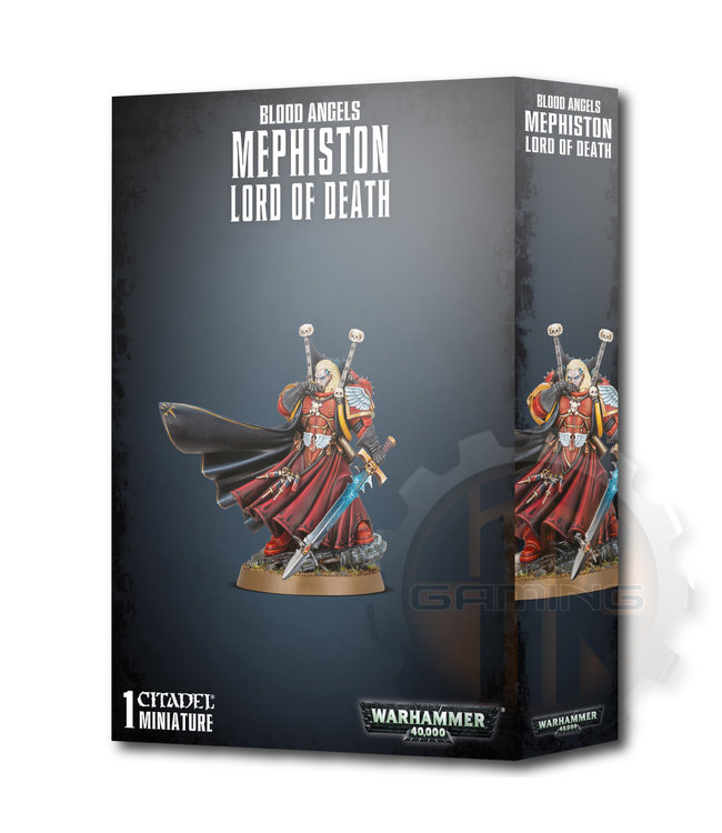 Warhammer 40000 Blood Angels Mephiston Lord Of Death