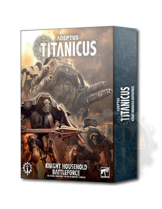 Warhammer 40000 Adeptus Titanicus Knight Battleforce