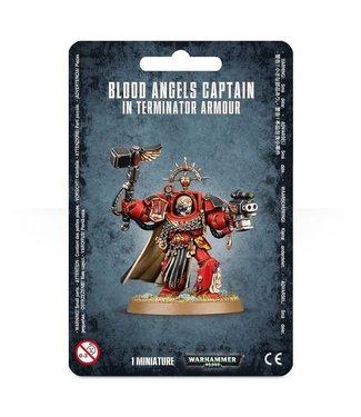 Warhammer 40000 #Blood Angels Captain: Terminator Armour