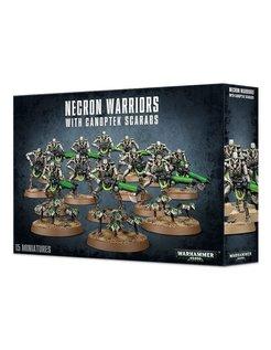 Necron Warriors w Canoptek Scarabs