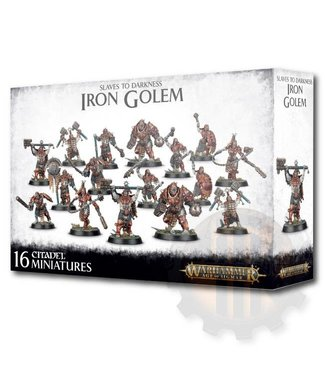 Age Of Sigmar Slaves To Darkness: Iron Golem