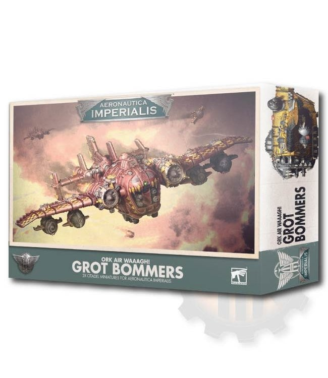 Aeronautica Imperialis A/I Ork Air Waaagh! Grot Bommers