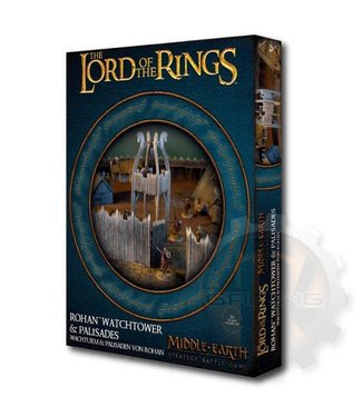 Lord Of The Rings M-E Sbg: Rohan Watchtower & Palisades