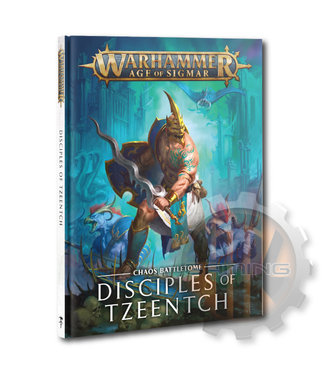 Age Of Sigmar B/Tome: Disciples Of Tzeentch (Hb)