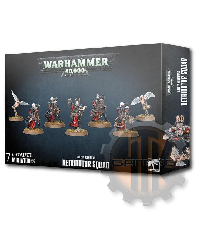 Warhammer 40000 Adepta Sororitas Retributor Squad