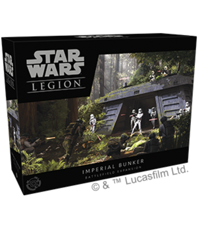 Star Wars Legion Imperial Bunker Battle Field Expansion