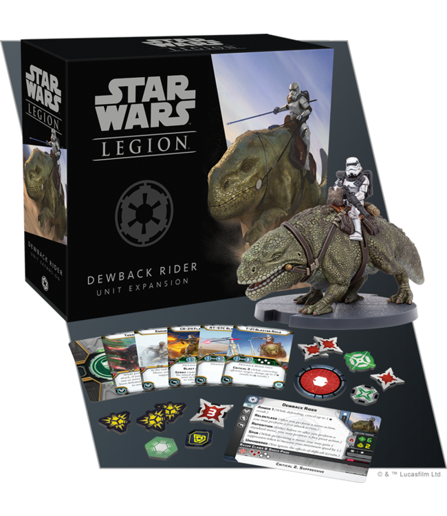 Star Wars Legion Dewback Rider Unit Expansion