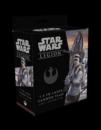 Star Wars Legion 1.4 FD Laser Cannon Team Unit Expansion