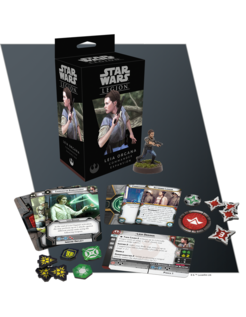 Leia Organa Commander: Star Wars: Legion