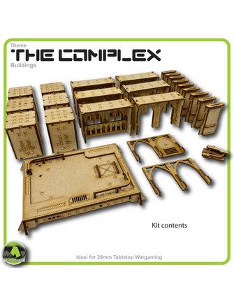 MAD Gaming Terrain Future Gothic Build 1001 kit