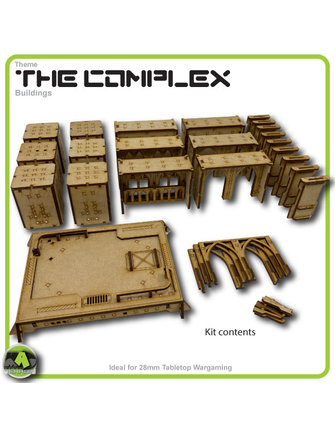 MAD Gaming Terrain Future Gothic Build 1002 kit