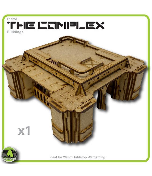 MAD Gaming Terrain Future Gothic Build 1002 kit