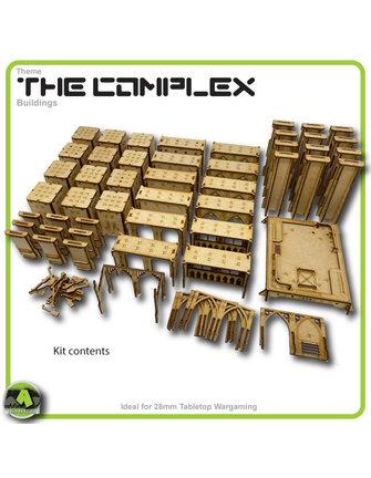 MAD Gaming Terrain Future Gothic Build 3001 kit