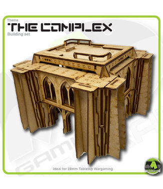 MAD Gaming Terrain Future Gothic Build 2001 kit