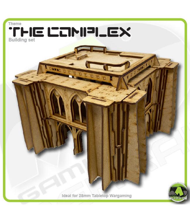 MAD Gaming Terrain Future Gothic Build 2001 kit