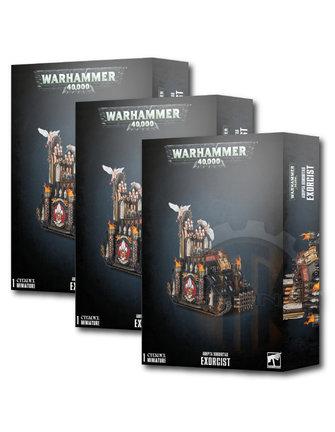 Warhammer 40000 Adepta Sororitas Exorcist Bundle