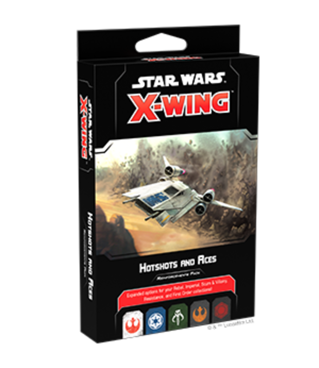 Star Wars X-Wing Hotshots and Aces Reinforcements Pack