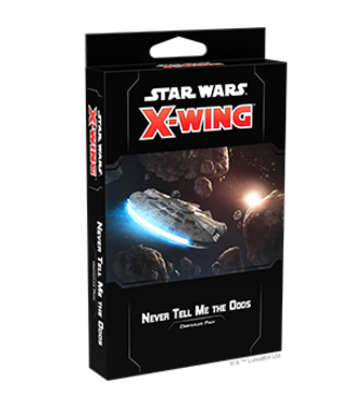 Star Wars X-Wing Never Tell Me the Odds Obstacles Pack