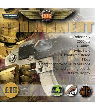 Tournaments COG Pure (Sun 6th Sept 2020)