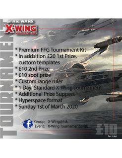 X-Wing Tournament (1st March 2020)