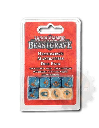 Warhammer Underworlds Whu: Hrothgorn'S Mantrappers Dice Set