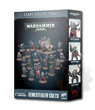 Warhammer 40000 Start Collecting! Genestealer Cults