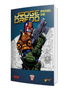 Judge Dredd Softback Rulebook