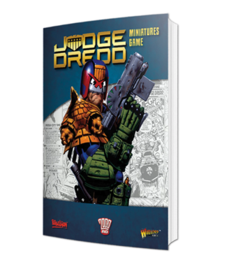 Warlord Judge Dredd Softback Rulebook
