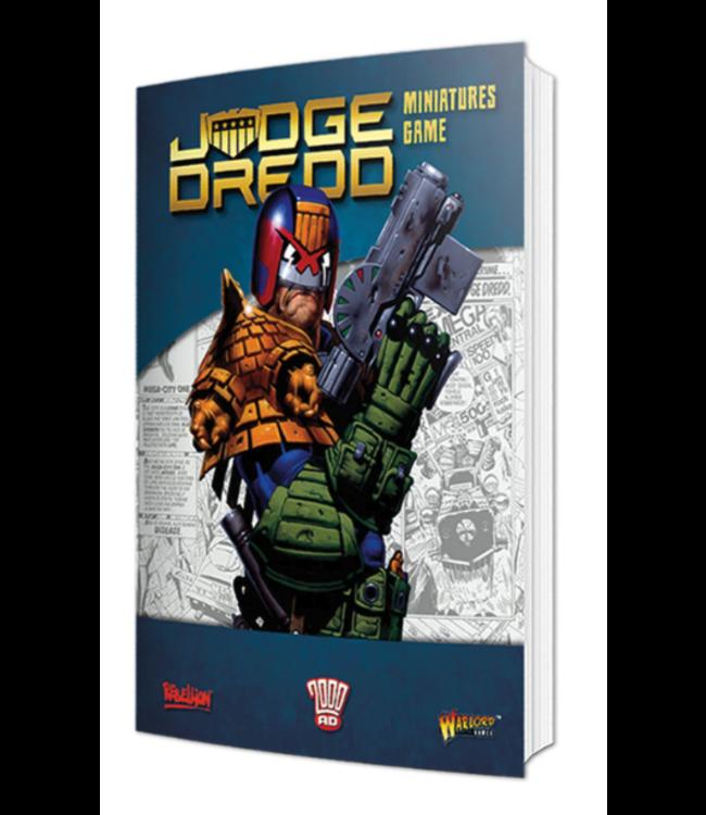 Warlord Judge Dredd Softback Rulebook