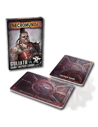 Necromunda Necromunda: Goliath Gang Tactics Cards
