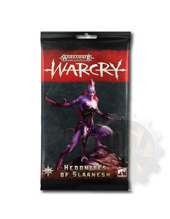 Warcry Warcry: Hedonites Of Slaanesh Cards