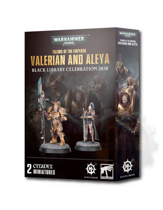 Black Library Talons Of The Emperor:Valerian And Aleya