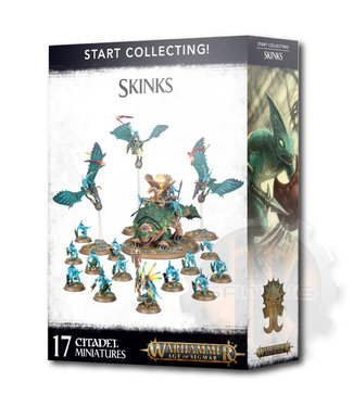 Age Of Sigmar Start Collecting! Skinks
