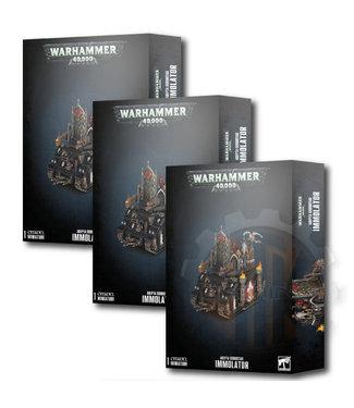 Warhammer 40000 Adepta Sororitas Immolator Bundle