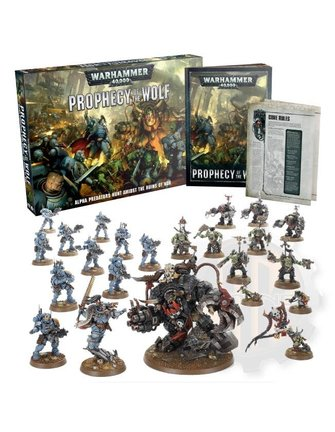 Warhammer 40000 Wh40K: Prophecy Of The Wolf