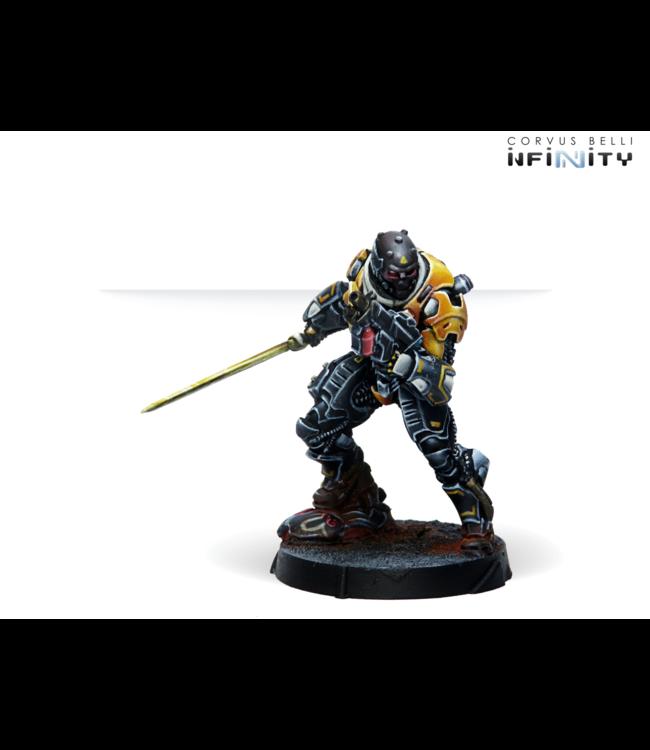 Infinity Hulang Shocktroopers (Combi Rifle+Light FT)