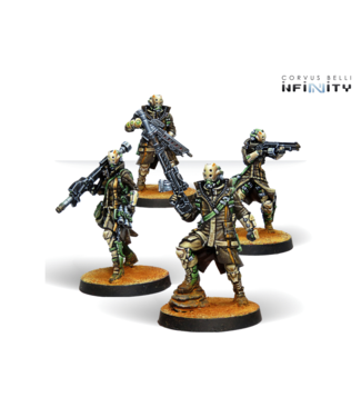 Infinity Zhayedan Intervention Troops