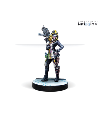 Infinity Dart, Optimate Huntress (SMG, Grenades)