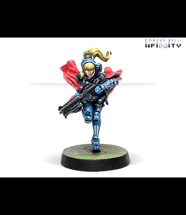 Infinity Jeanne D'Arc (Mobility Armor, Spitfire)