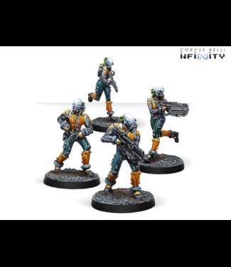 Infinity Kuang Shi - 4 (Chain rifle x 2, boarding shotgun, pistol)