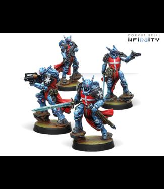 Infinity Knights Hospitaller - 4 (HMG, boarding shotgun, multi rifle, combi rifle)
