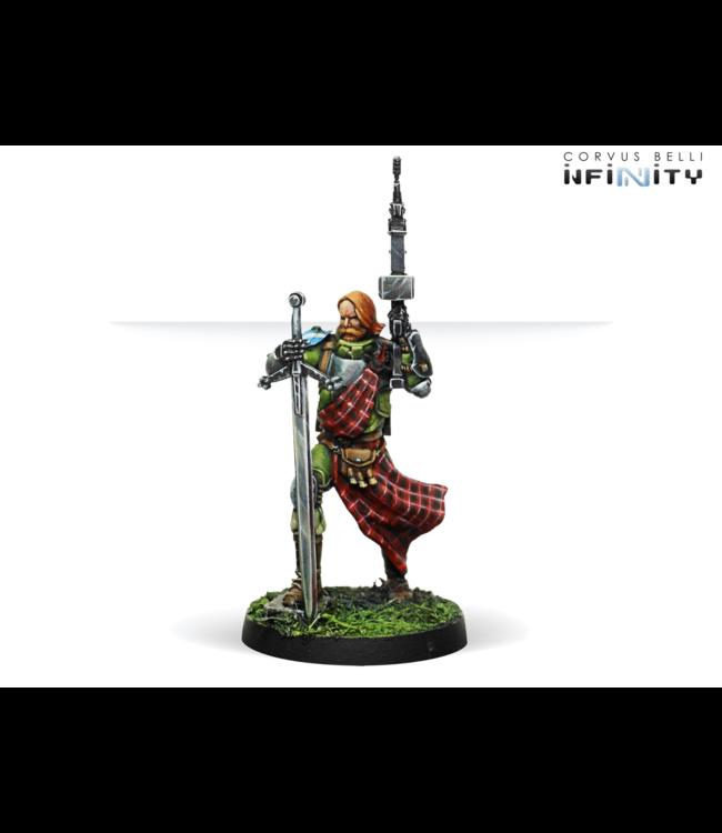 Infinity 3rd Highlander Grey Rifles (HMG)