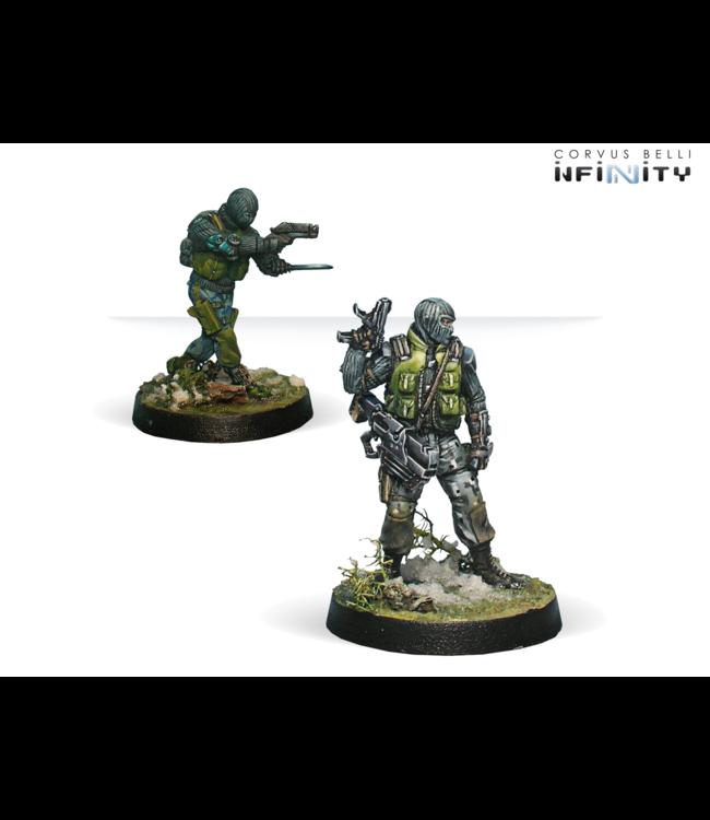 Infinity 1st. Highlanders S.A.S. (Boarding Shotgun/ Chain Rifle)
